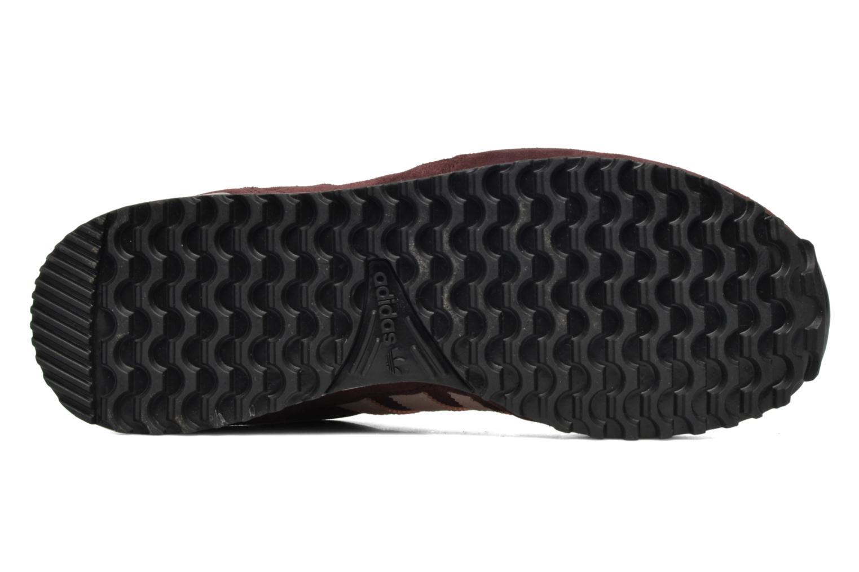 Baskets Adidas Originals Zx 700 W Bordeaux vue haut