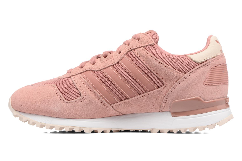 Sneaker Adidas Originals Zx 700 W rosa ansicht von vorne