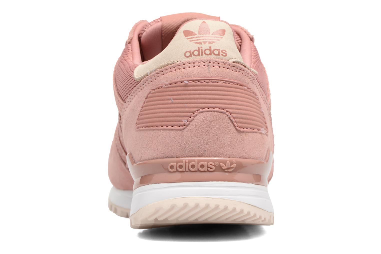 Sneaker Adidas Originals Zx 700 W rosa ansicht von rechts