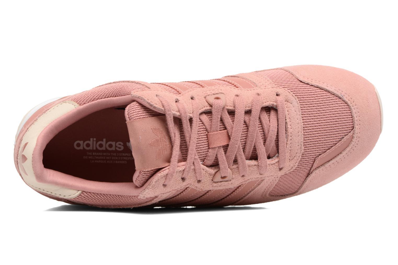 Sneaker Adidas Originals Zx 700 W rosa ansicht von links