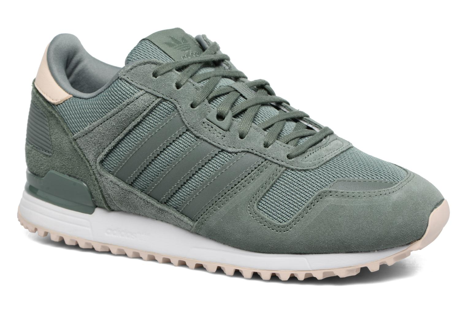 Trainers Adidas Originals Zx 700 W Green detailed view/ Pair view