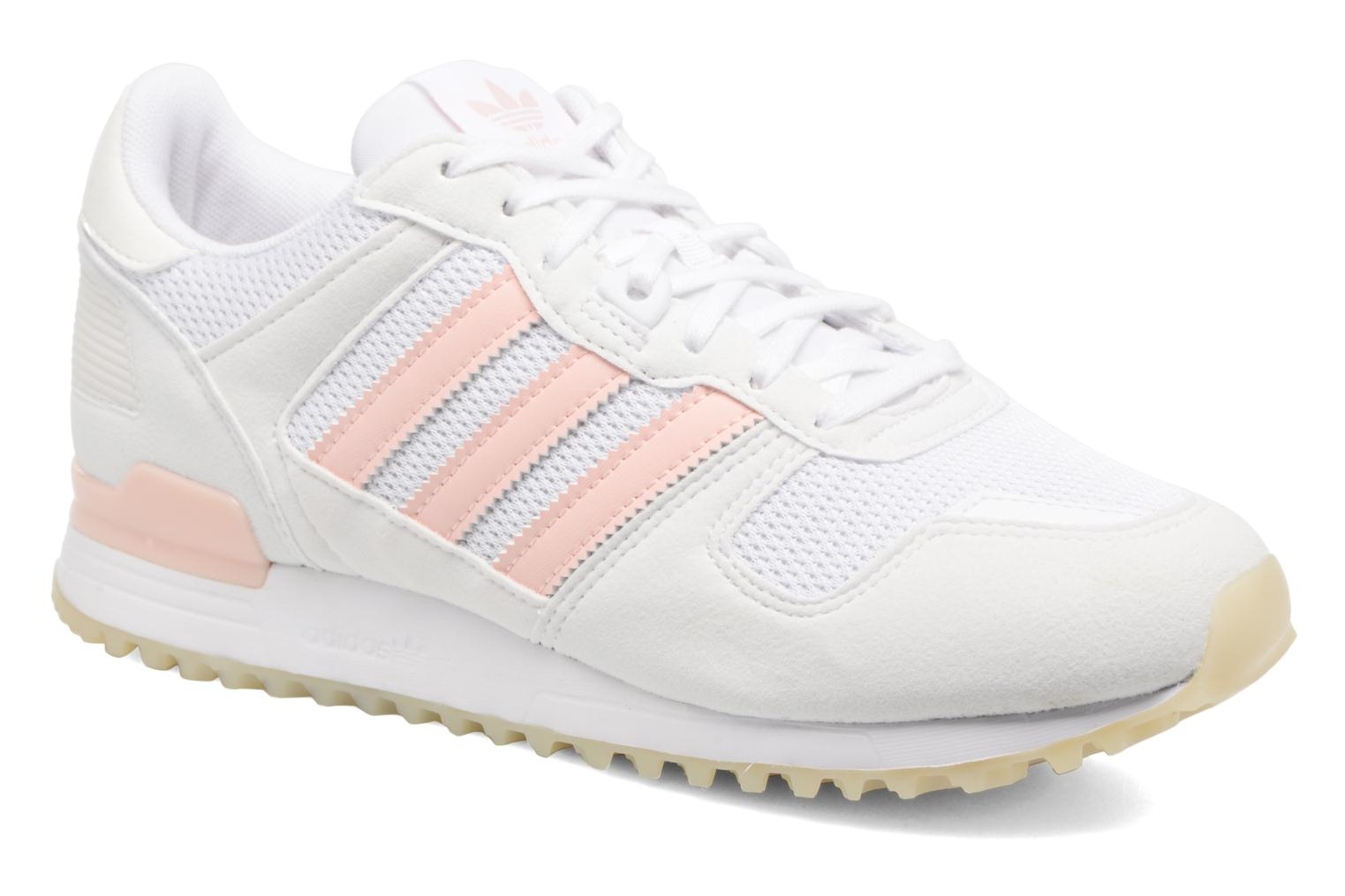 Trainers Adidas Originals Zx 700 W Pink detailed view/ Pair view