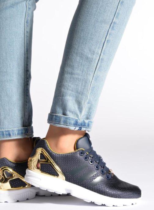 Sneakers adidas originals Zx Flux W Nero immagine dal basso