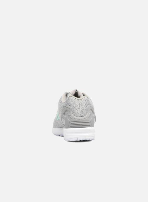 Baskets adidas originals Zx Flux W Gris vue droite