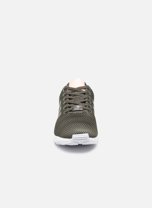 Trainers adidas originals Zx Flux W Green model view