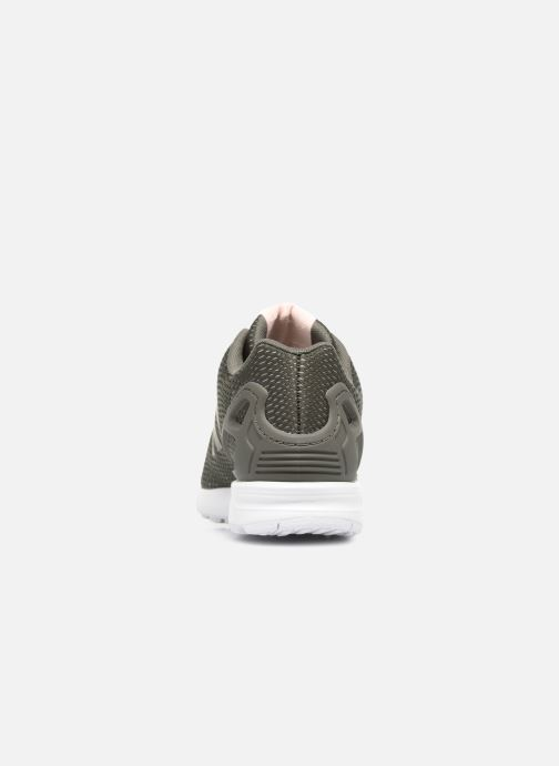 Trainers adidas originals Zx Flux W Green view from the right