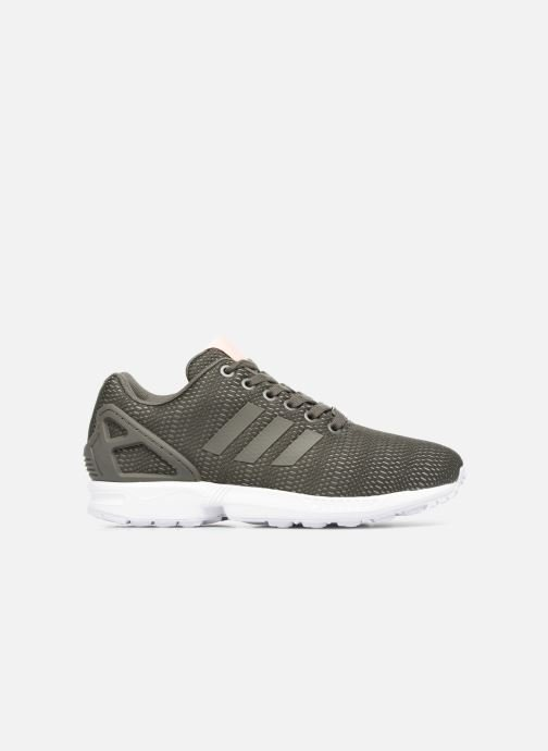 Trainers adidas originals Zx Flux W Green back view