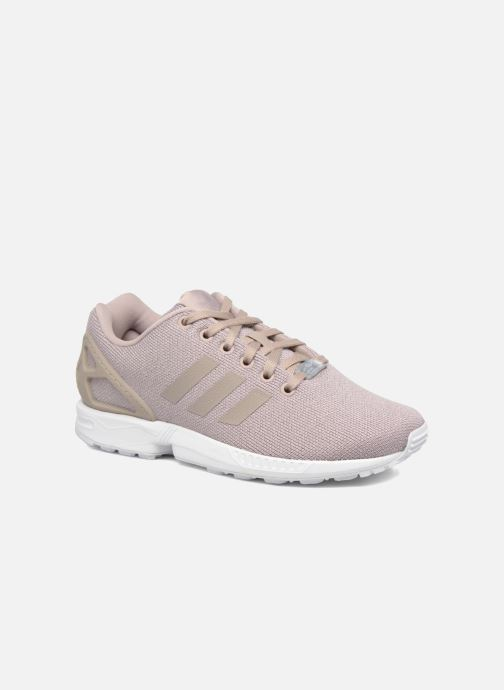 Trainers Adidas Originals Zx Flux W Grey detailed view/ Pair view