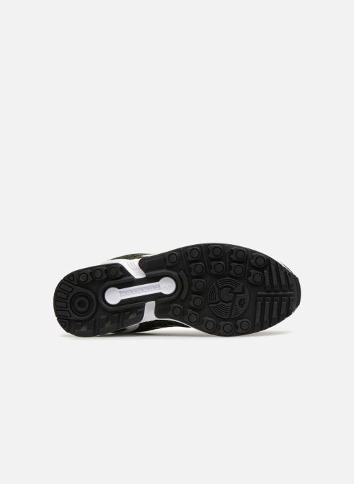 Baskets adidas originals Zx Flux W Vert vue haut