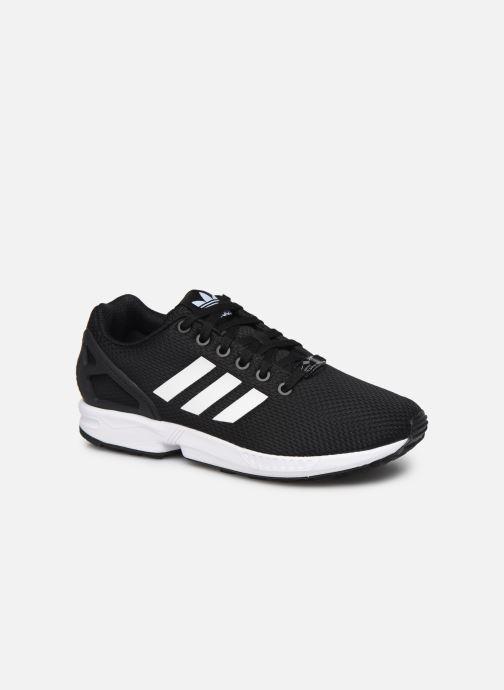 Trainers adidas originals Zx Flux W Black detailed view/ Pair view