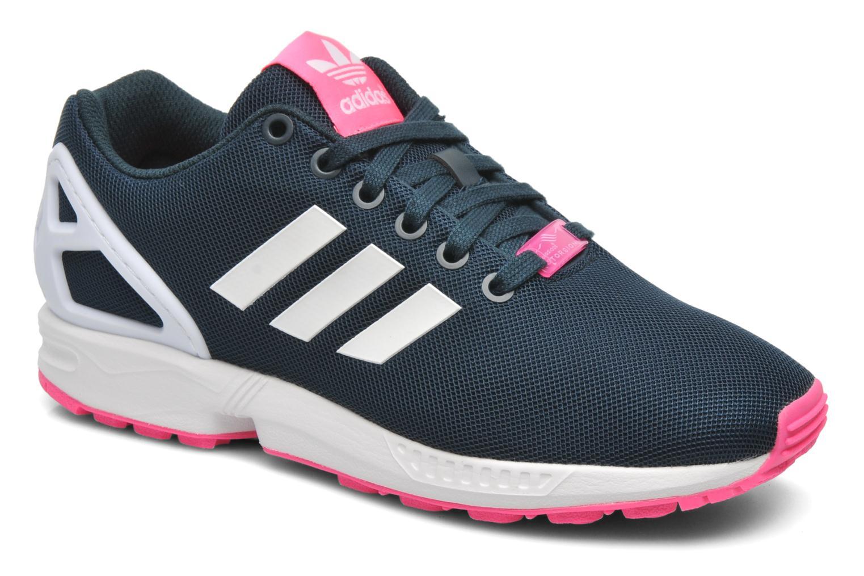 best sneakers 04300 99931 promo code for deportivas adidas originals zx flux w negro vista de detalle  par 40f1a 015d9