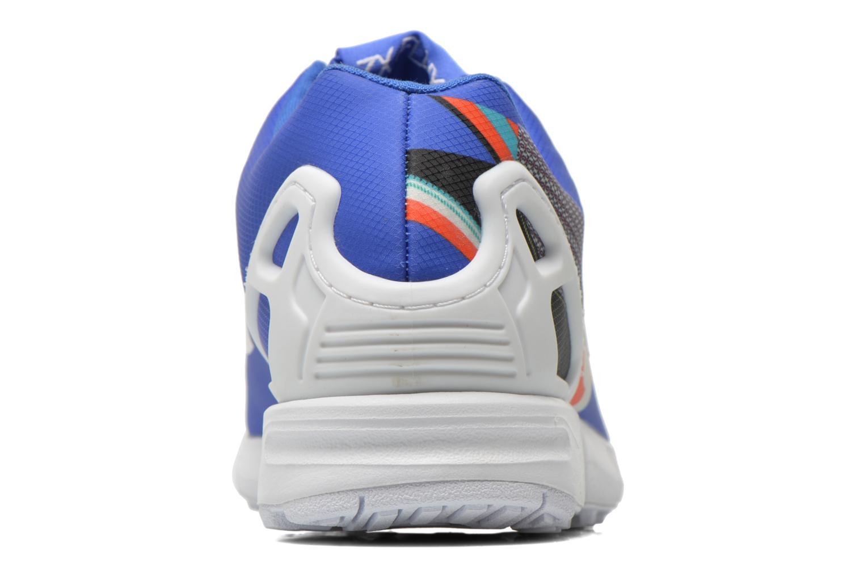 Baskets Adidas Originals Zx Flux W Bleu vue droite