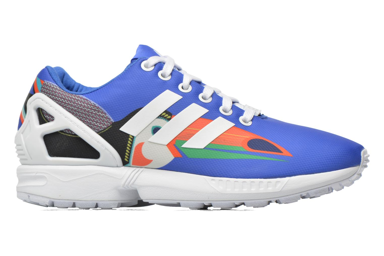 Baskets Adidas Originals Zx Flux W Bleu vue derrière