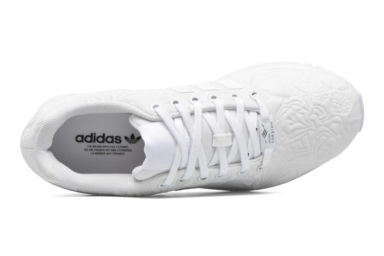 Baskets Adidas Originals Zx Flux W Blanc vue gauche