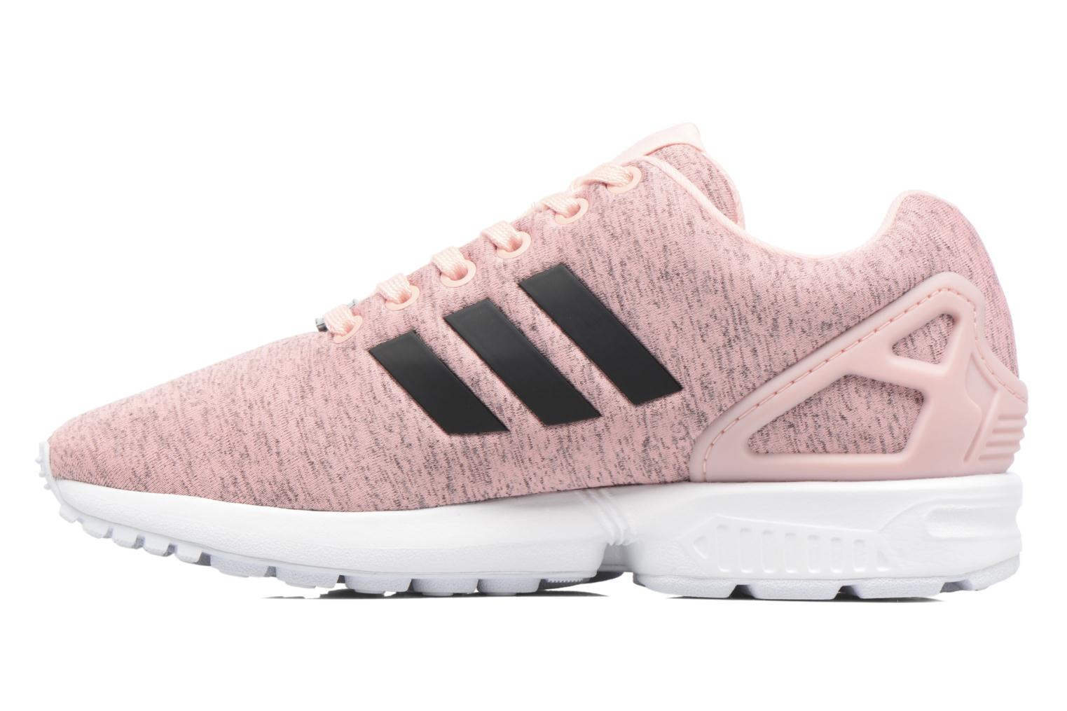 Baskets Adidas Originals Zx Flux W Rose vue face