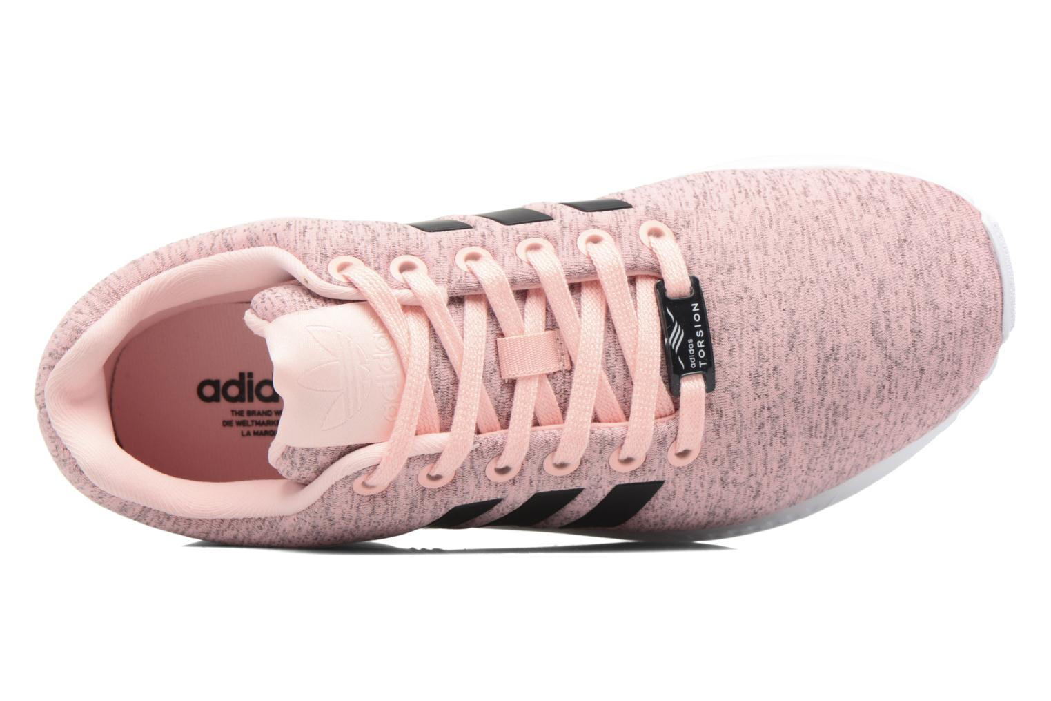 Baskets Adidas Originals Zx Flux W Rose vue gauche