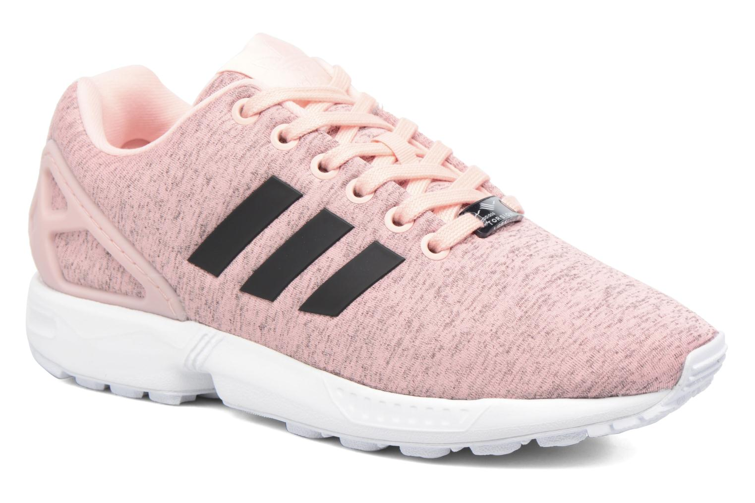 Baskets Adidas Originals Zx Flux W Rose vue détail/paire