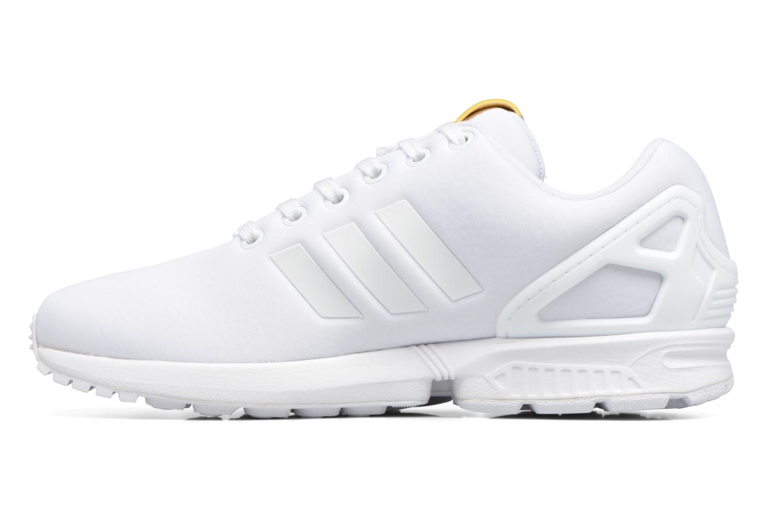 Baskets Adidas Originals Zx Flux W Blanc vue face
