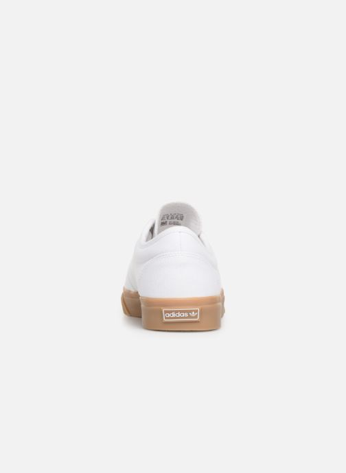 Baskets Adidas Originals Adi-Ease Blanc vue droite