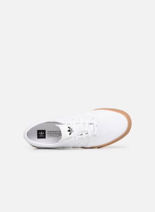 Baskets Adidas Originals Adi-Ease Blanc vue gauche