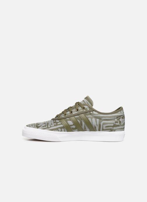 Sneakers adidas originals Adi-Ease Groen voorkant