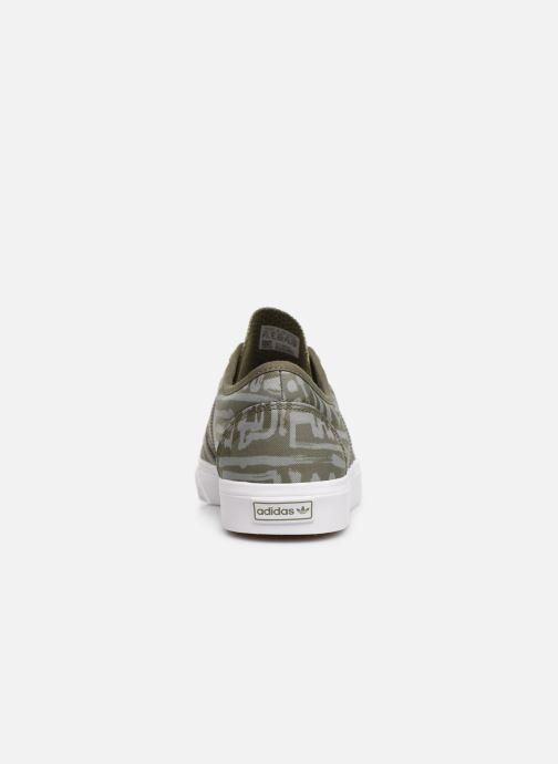 Sneakers adidas originals Adi-Ease Grøn Se fra højre