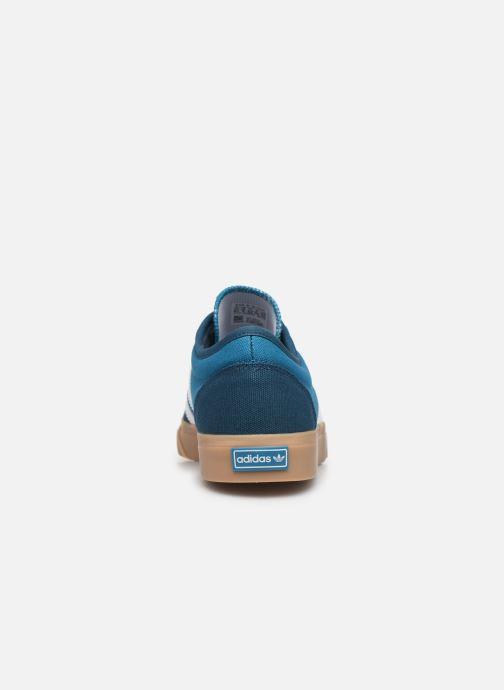 Baskets adidas originals Adi-Ease Bleu vue droite