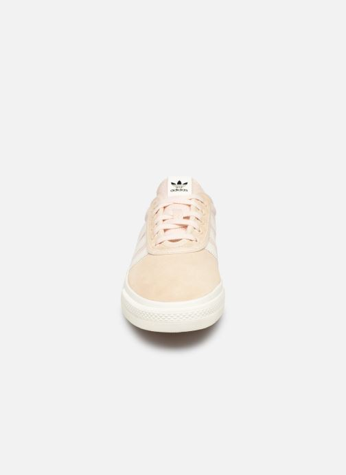 Baskets adidas originals Adi-Ease Rose vue portées chaussures