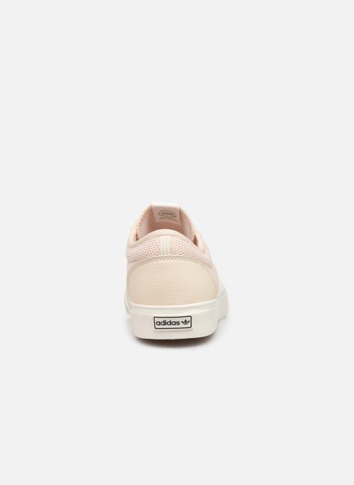 Baskets adidas originals Adi-Ease Rose vue droite