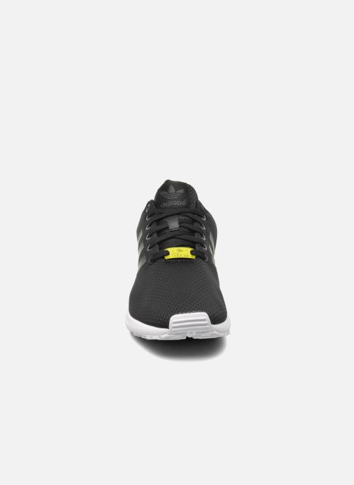 Sneaker adidas originals Zx Flux schwarz schuhe getragen
