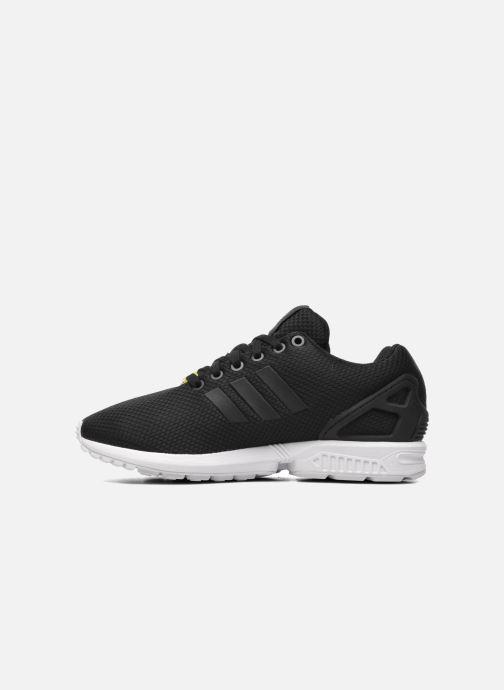 Sneaker adidas originals Zx Flux schwarz ansicht von vorne