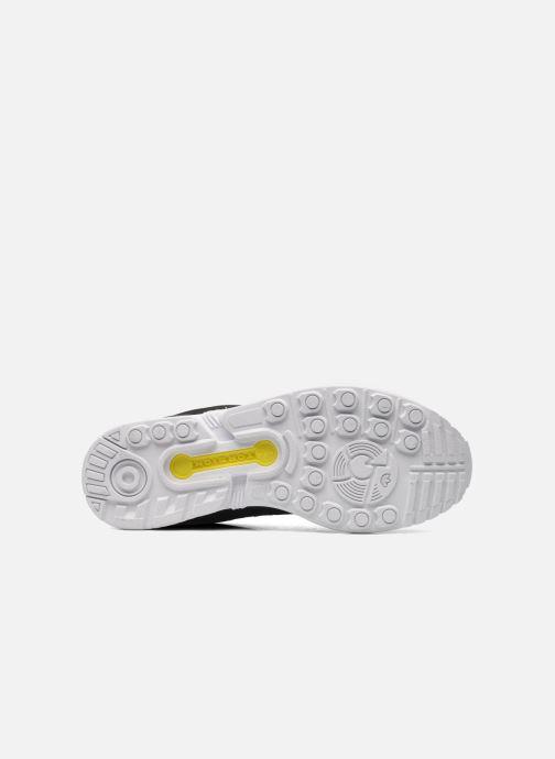 Sneaker adidas originals Zx Flux schwarz ansicht von oben