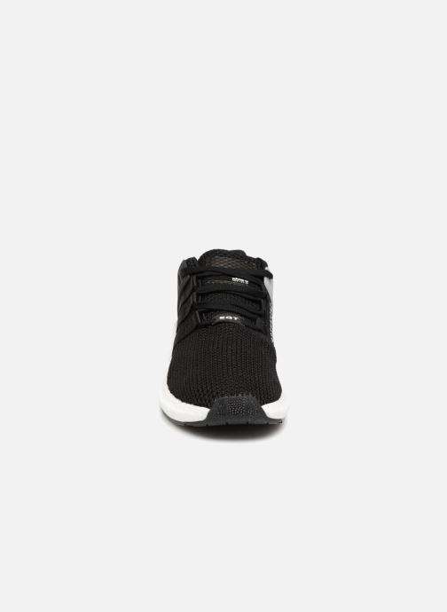 Baskets adidas originals Zx Flux Bordeaux vue portées chaussures