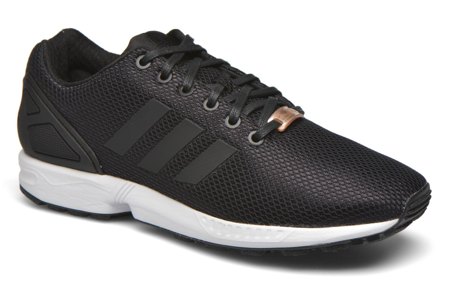 Homme adidas ZX Flux New Navy Street Shoes 2018 Mode