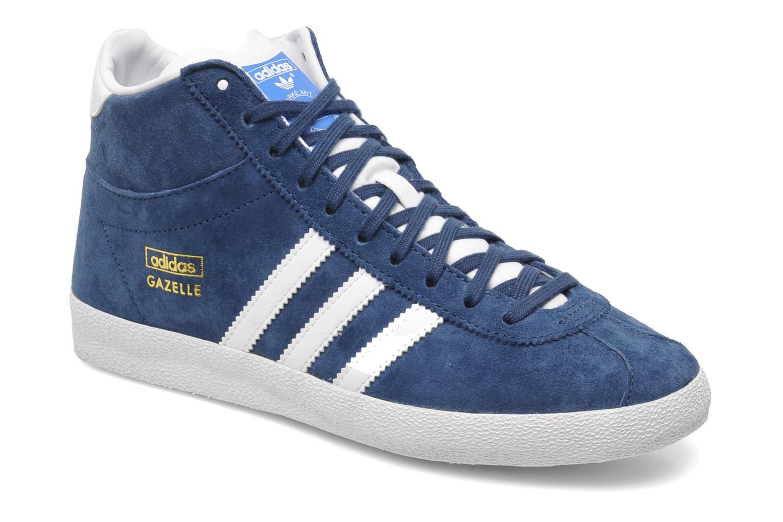 size 40 d5d2d a283d Adidas Originals Originals Originals Gazelle Og Mid W Bleu Baskets chez  Sarenza 193053 5d3ef3