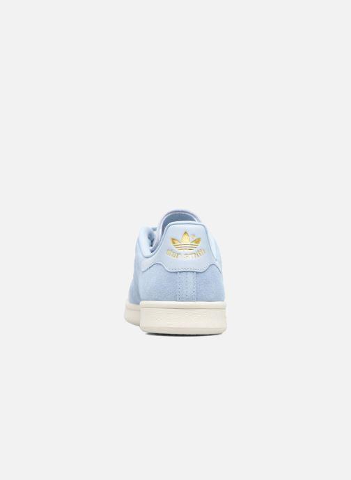 Baskets adidas originals Stan Smith W Bleu vue droite
