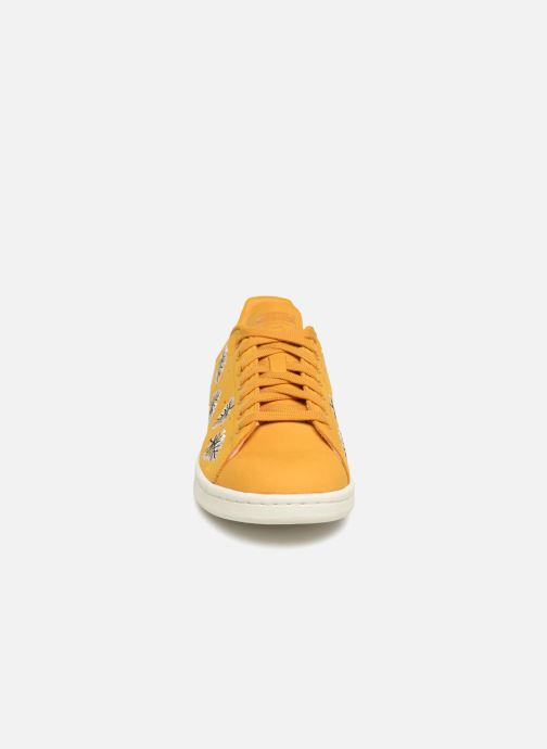 Baskets adidas originals Stan Smith W Jaune vue portées chaussures