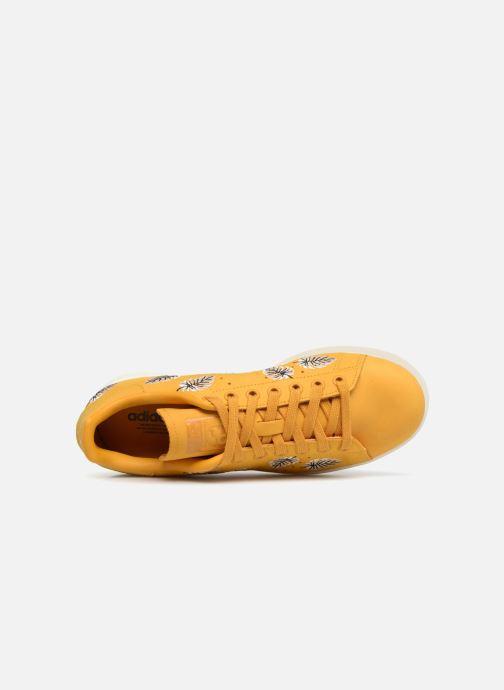 Baskets adidas originals Stan Smith W Jaune vue gauche