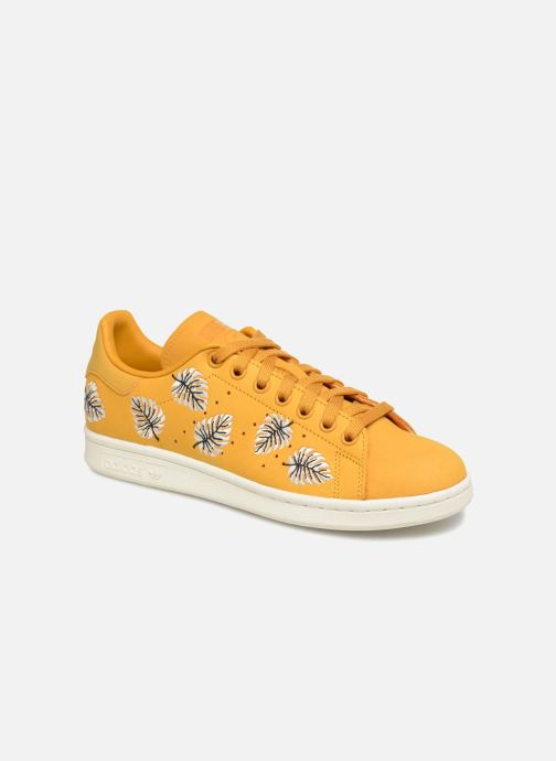 adidas originals Stan Smith W (Jaune) - Baskets chez Sarenza ...