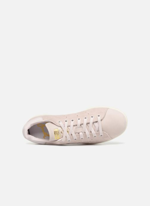 Deportivas adidas originals Stan Smith W Rosa vista lateral izquierda