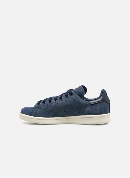 Baskets adidas originals Stan Smith W Bleu vue face