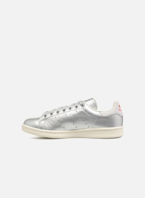Trainers Adidas Originals Stan Smith W Silver front view