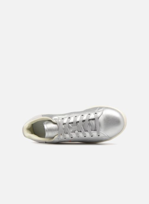 Trainers adidas originals Stan Smith W Silver view from the left