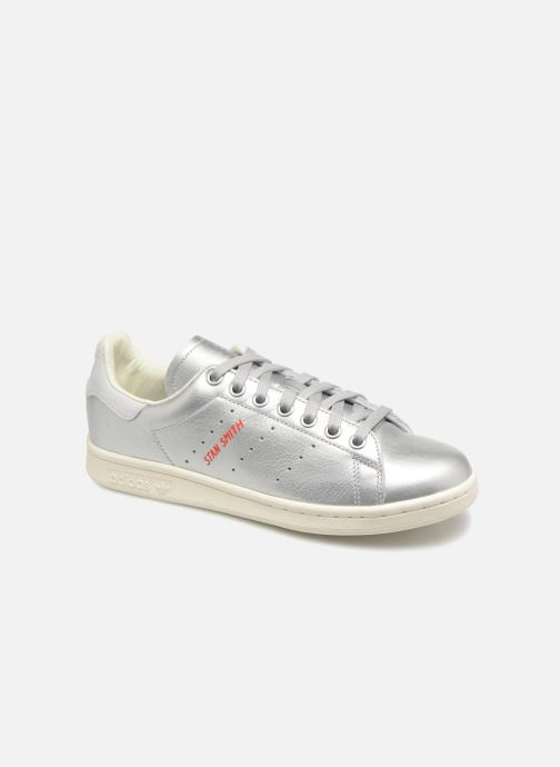 Trainers adidas originals Stan Smith W Silver detailed view/ Pair view