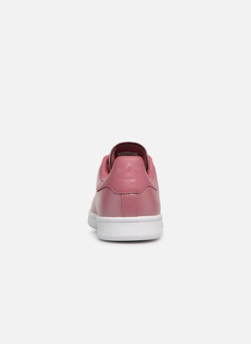 Trainers Adidas Originals Stan Smith W Pink view from the right