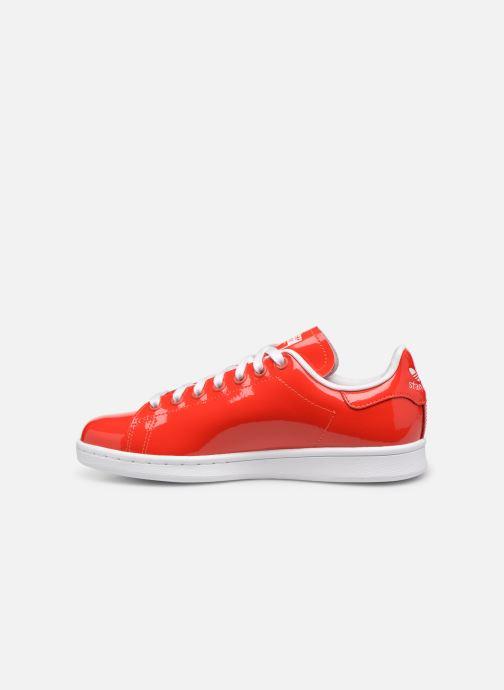 Deportivas adidas originals Stan Smith W Rojo vista de frente