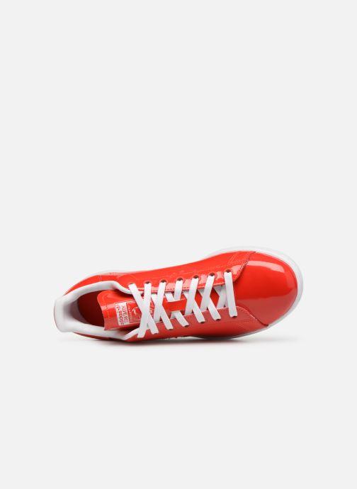 Deportivas adidas originals Stan Smith W Rojo vista lateral izquierda