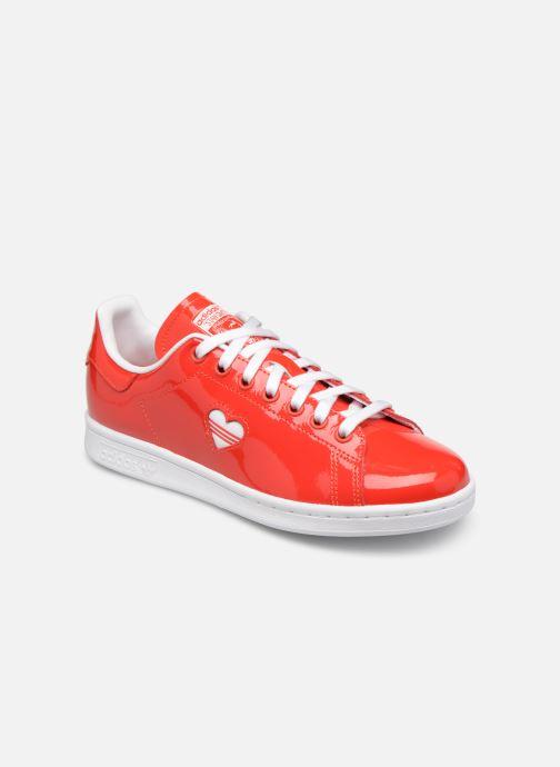 Deportivas adidas originals Stan Smith W Rojo vista de detalle / par