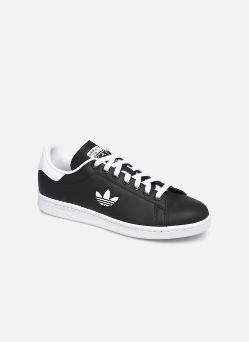 Trainers adidas originals Stan Smith W Black detailed view/ Pair view
