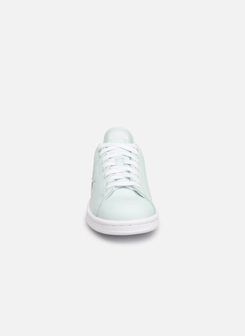 Sneakers adidas originals Stan Smith W Azzurro modello indossato